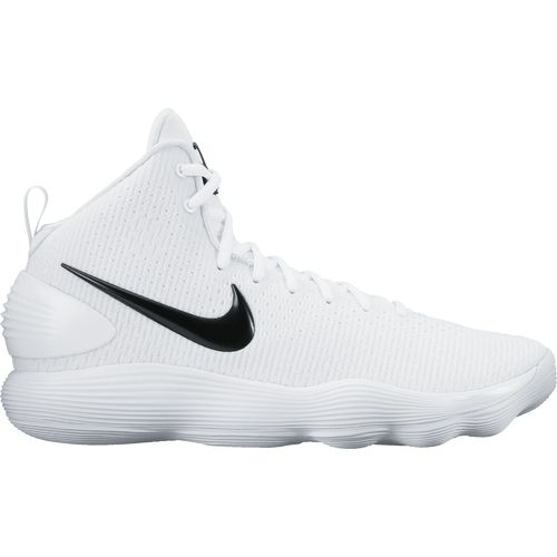 black and white nike basketball shoes