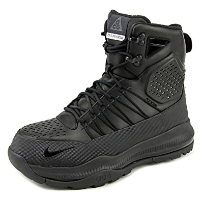 black nike boots