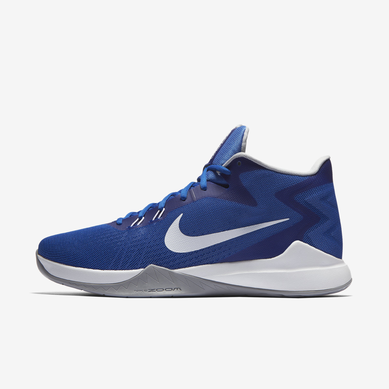 blue nike basketball shoes