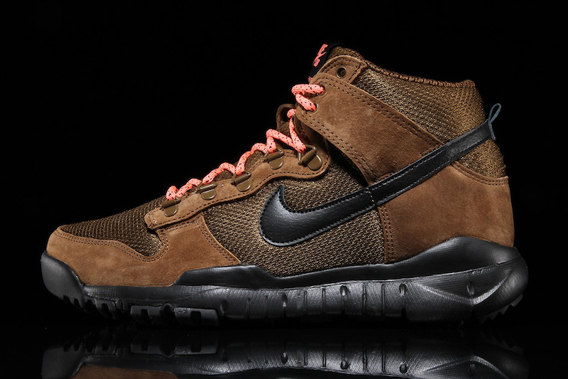 brown nike boots