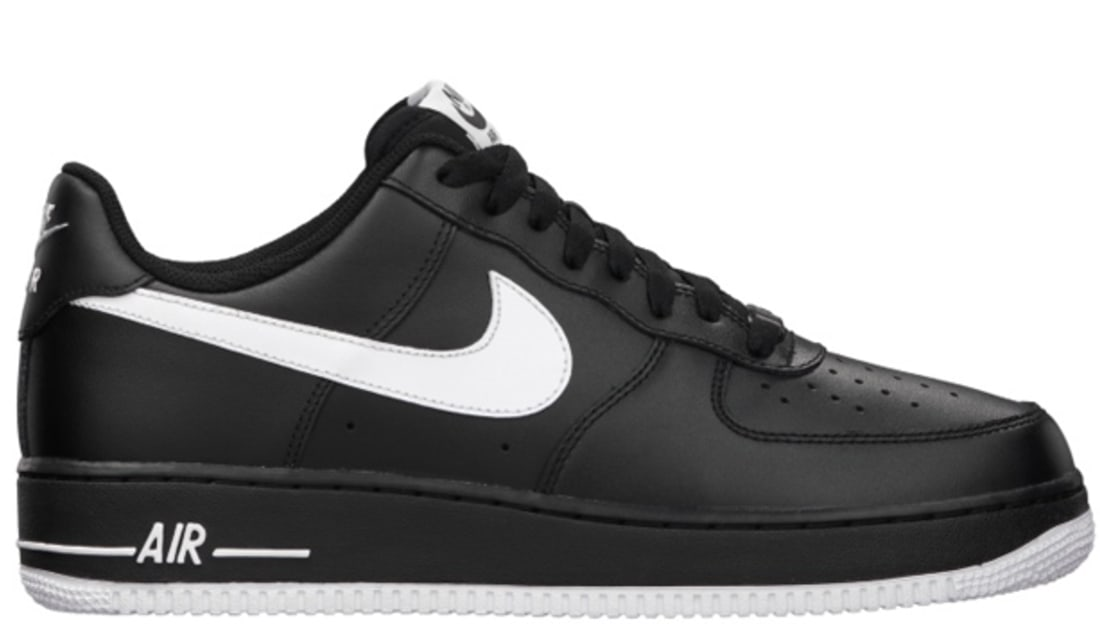 hot sale beauty 100% genuine nike air force 1 black and white