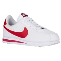 nike cortez white and red