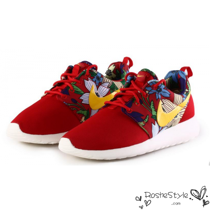 nike flower shoes
