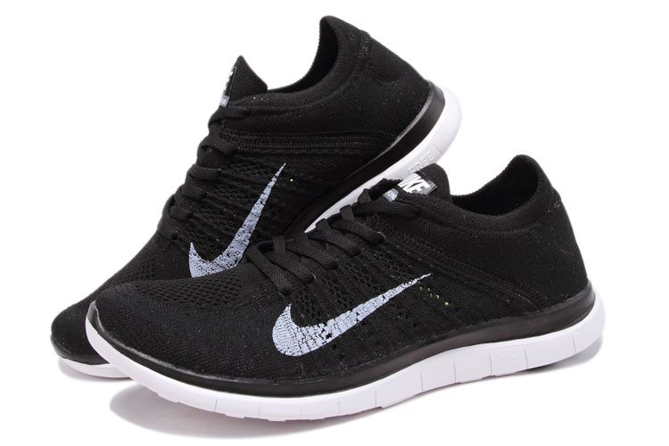 nike flyknit womens black