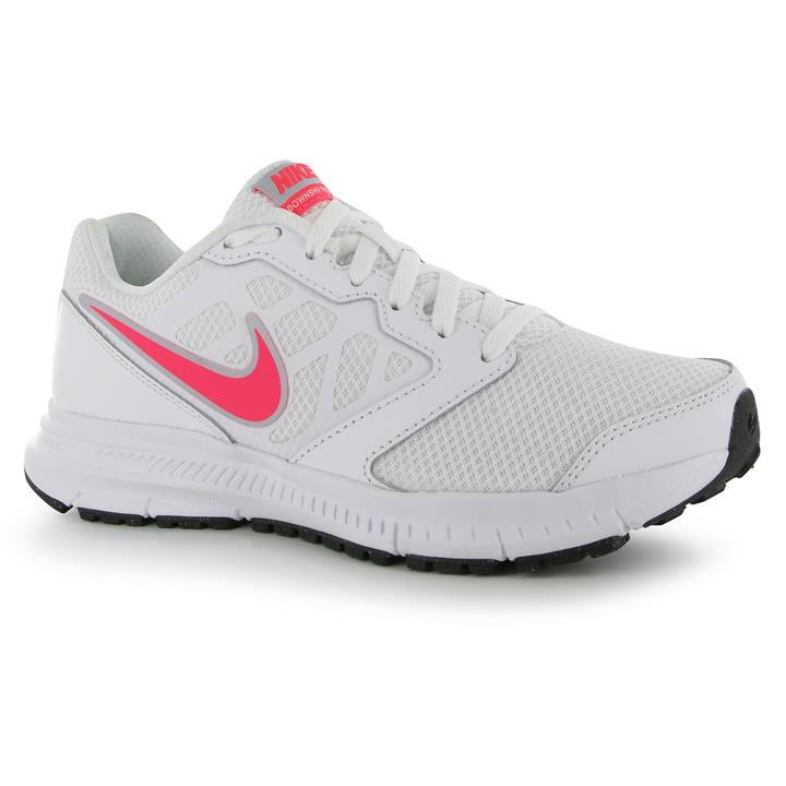 pink nike running shoes