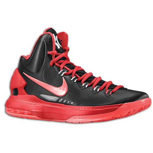 red nike basketball shoes