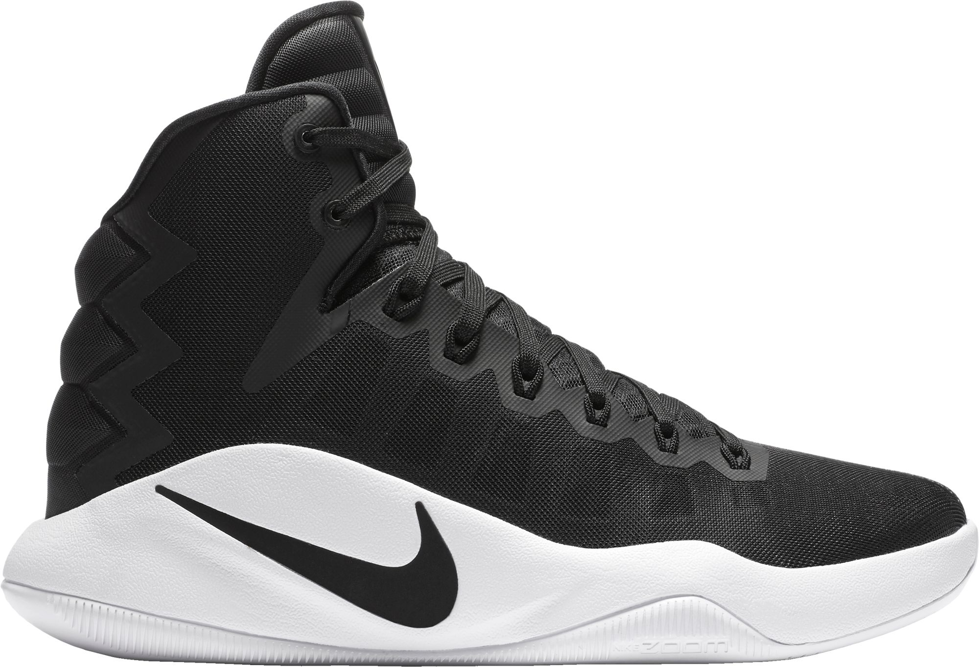white nike basketball shoes